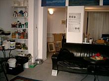 Atelier - Innenansicht