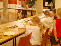 Workshop mit Kindern